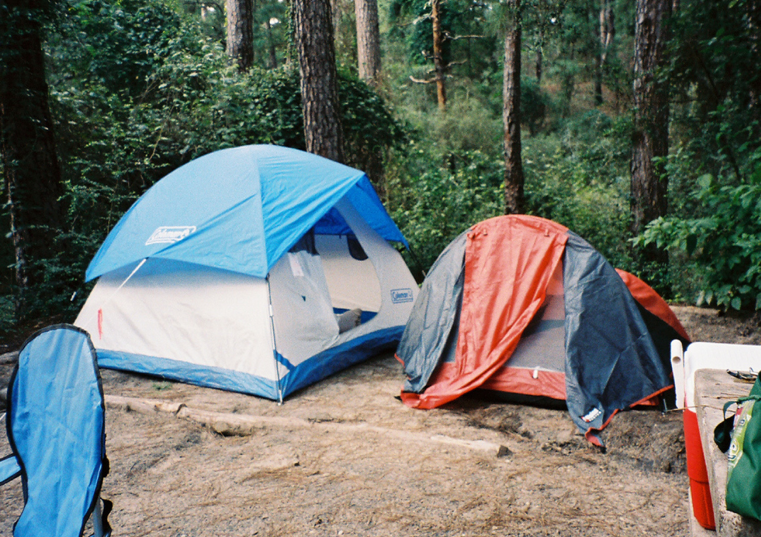 Fauxquets Valley Campsite